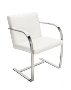 Replica Mies van der Rohe Brno Chair – White