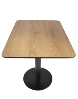 Cuba Café Table – Woodgrain Table Top