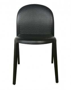 TIG Table and Set of 4 Lipperli Chairs – Black