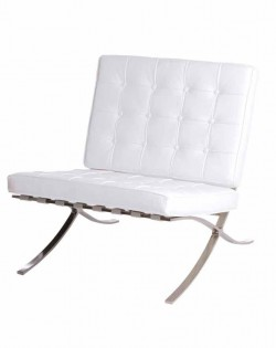 Replica Barcelona Chair – White