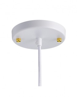 Scandinavian Pendant – White