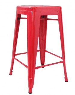 Amelie Stool 75cm – Red
