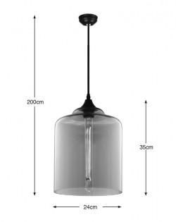 Paragon Glass Pendant – Tumbler