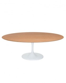 Replica Eero Saarinen Tulip Dining Table Oval – Oak