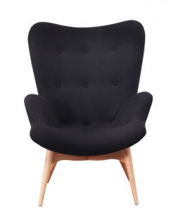 Replica Grant Featherston Contour Chair – Black